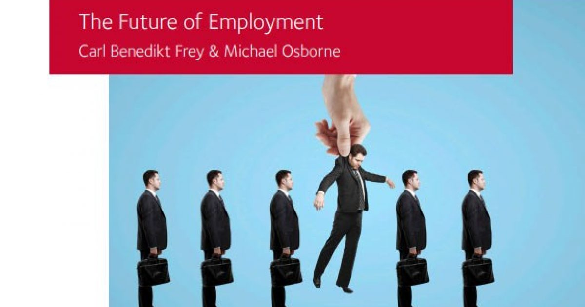 The Future Of Employment  How Susceptible Are U2026