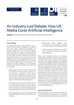 How UK Media Cover Artificial Intelligence Cover