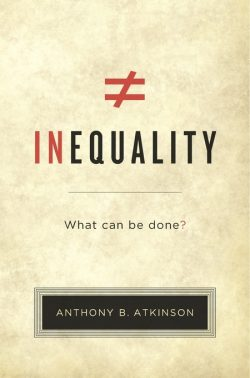 Inequality: What Can Be Done Cover