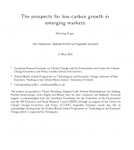 Prospects for low carbon growth