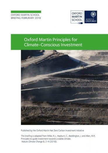 9145 Principles For Climate Conscious Investment hires Page 1
